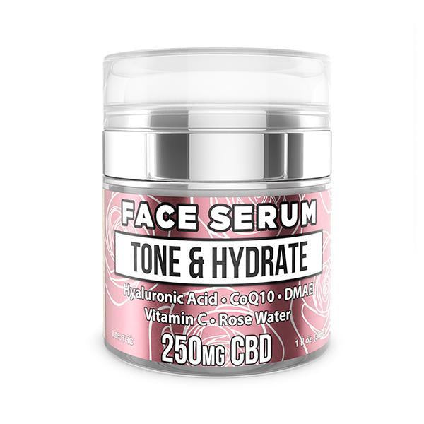 Erth Hemp Face Serum Tone & Hydrate 250mg - 30ml