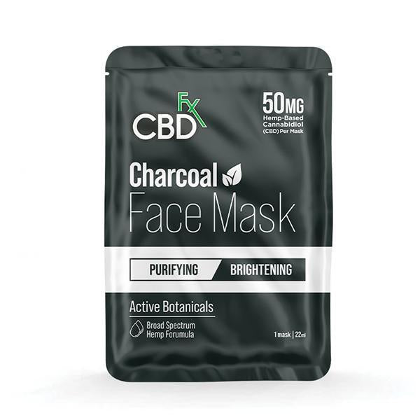 CBDfx Face Mask - Charcoal (Purifying/Brightening) - 1pcs