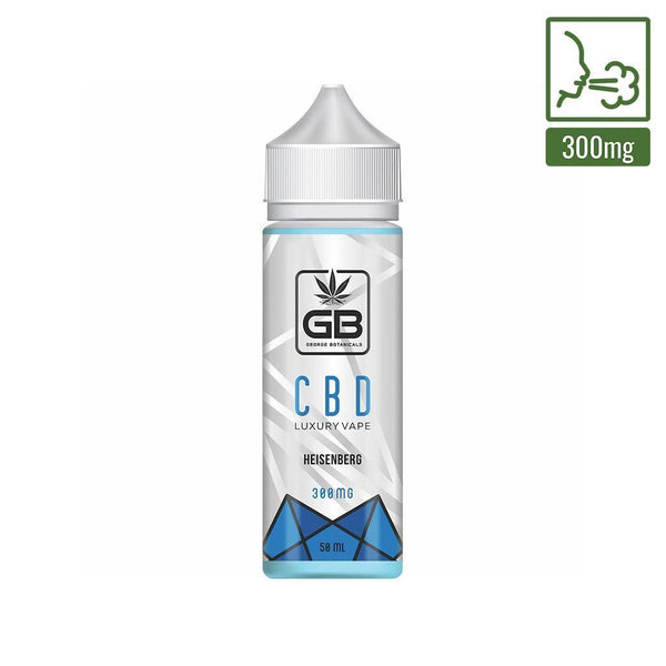 GEORGE BOTANICALS CBD E-LIQUID HEISENBERG 300MG - 50ML