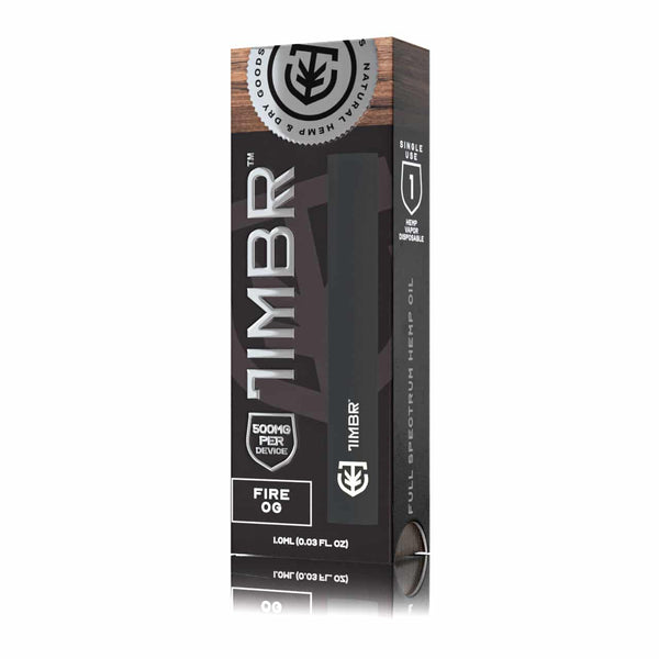 Timbr Disposable Pens Full Spectrum Hemp Oil 500mg - 1ml