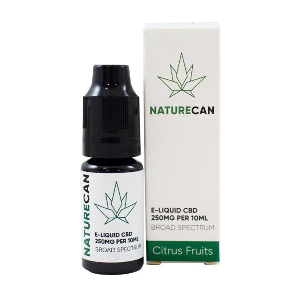 Naturecan CBD E-liquid Citrus Fruits - 10ml