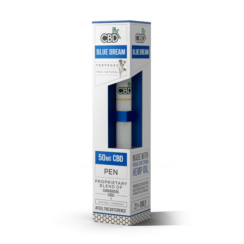 CBDfx Terpenes Disposable Pen Blue Dream - 50mg