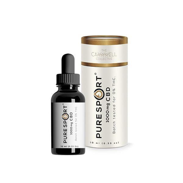Cannwell Collective Pure Sport CBD Oil 1000mg - 10ml