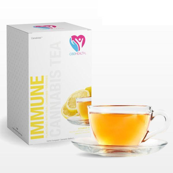 Canabidol CBD Tea Immune Support - 20pcs