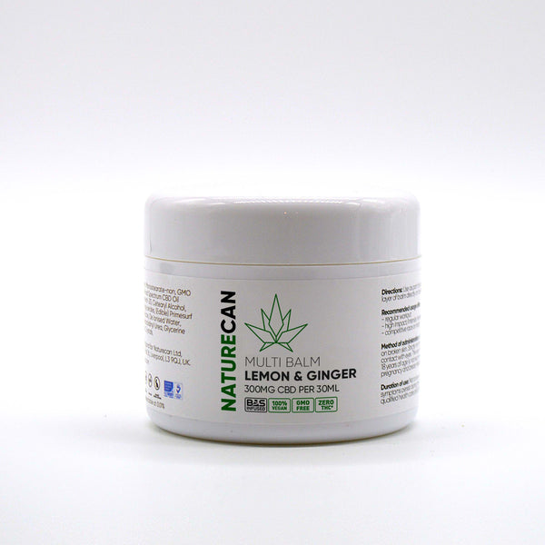 Naturecan CBD Multi Balm Lemon & Ginger 300mg - 30ml