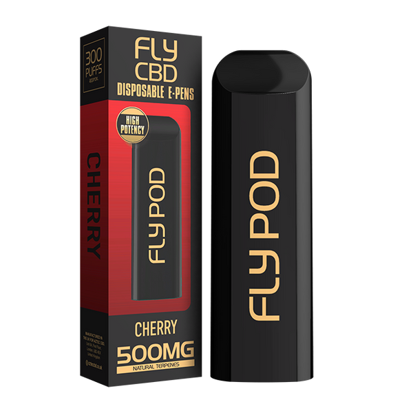 Fly CBD Disposable Vape Pen Cherry - 500mg