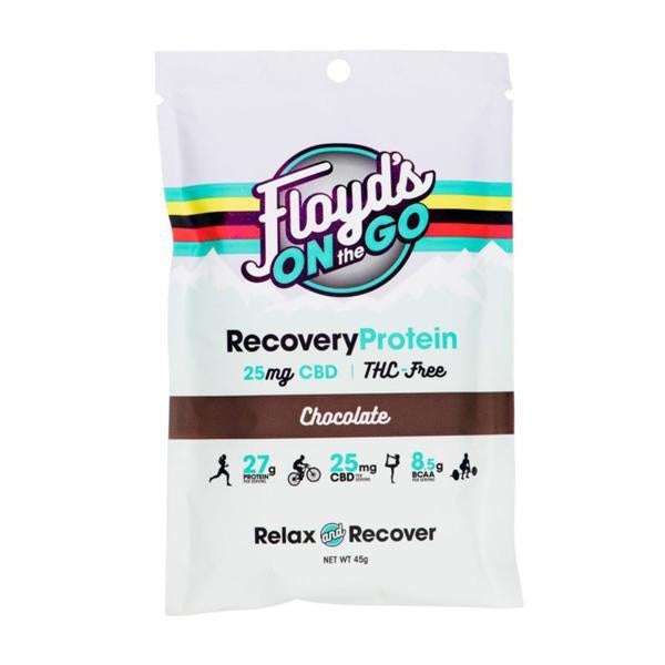 Floyd's On The Go Recovery Protein Chocolate 25mg - 45g