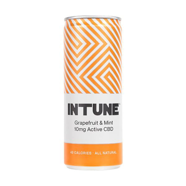 Intune CBD Drink Grapefruit & Mint 10mg - 250ml