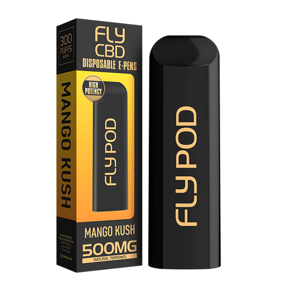 Fly CBD Disposable Vape Pen Mango Kush - 500mg