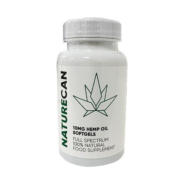 Naturecan CBD Full Spectrum Hemp Oil Softgels 10mg - 30pcs