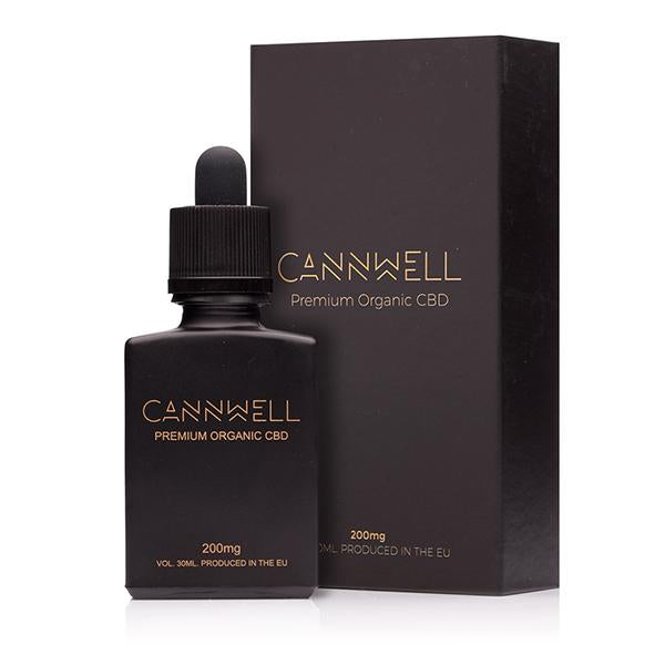 Cannwell Premium Organic CBD 200mg - 30ml