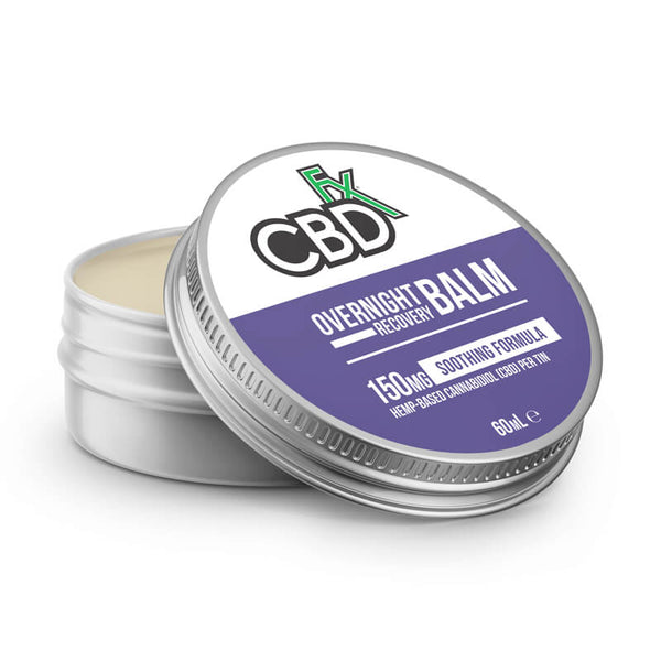 CBDFX OVERNIGHT RECOVERY BALM 150MG - 2OZ