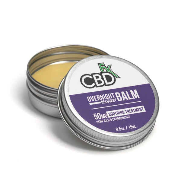 CBDFX OVERNIGHT RECOVERY BALM MINI 50MG - 15ML