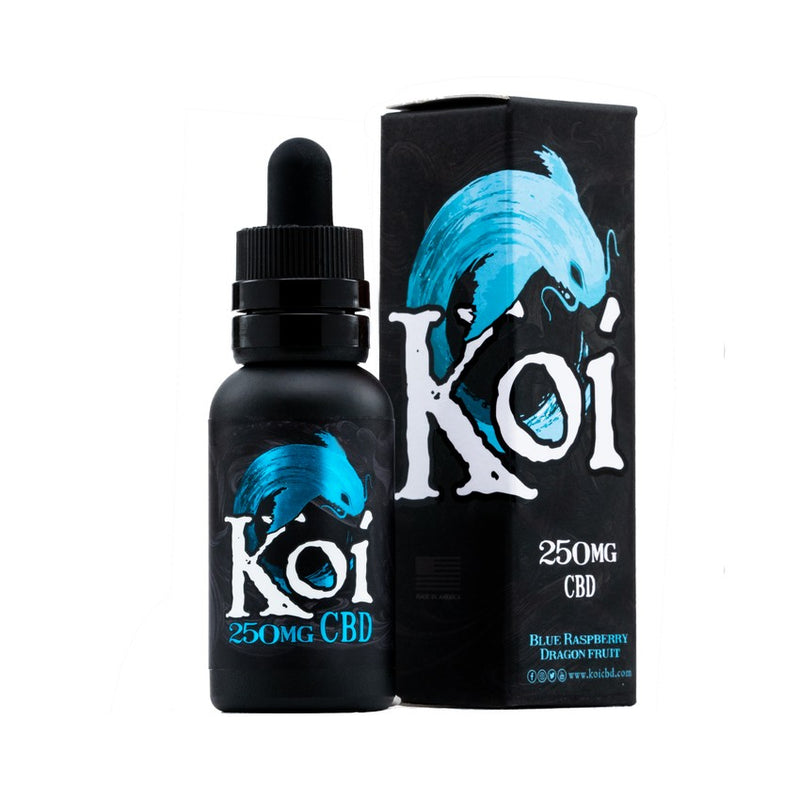 Koi CBD E-Liquid Blue Raspberry Dragon Fruit - 30ml