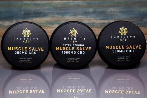 Infinity CBD Full Spectrum Muscle Salve - 250mg