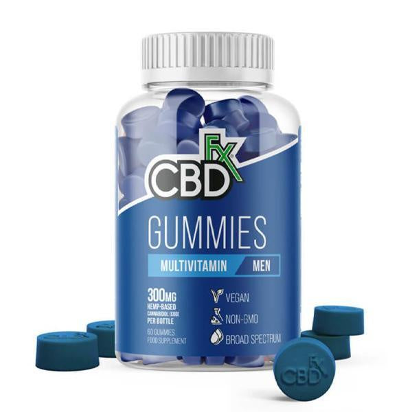 CBDfx Multivitamin Gummies 300mg - 60ct