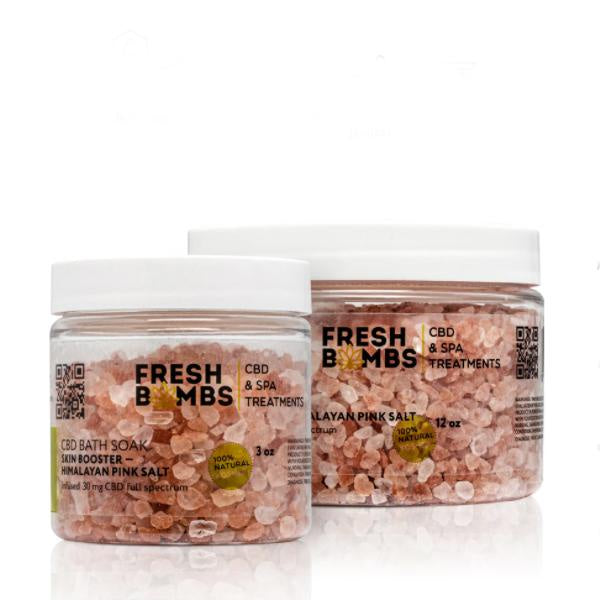 Fresh Bombs CBD Bath Soak Skin Booster 30mg - 3oz
