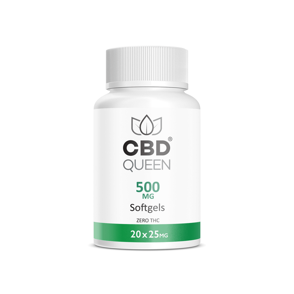 CBD QUEEN SOFTGELS - 500MG