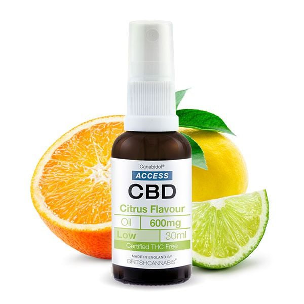 Canabidol Access CBD Oil Citrus Flavour - 30ml