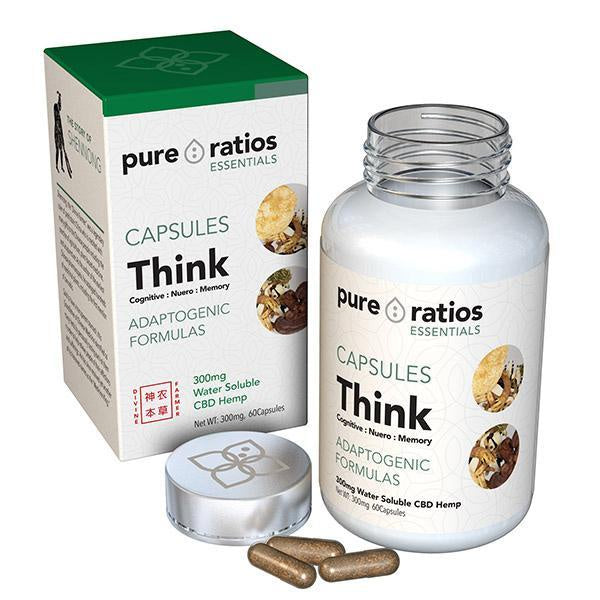 Pure Ratios Essentials Capsules Think 300mg - 60pcs