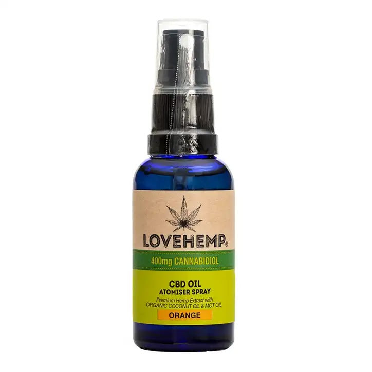 Love Hemp CBD Oil Spray Orange 400mg - 30ml