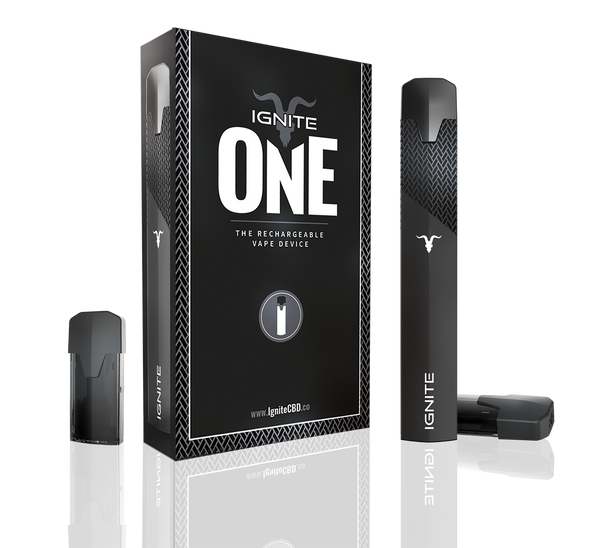 Ignite One - Soft Touch Rechargeable Vape Pen