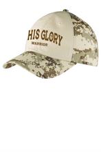 Load image into Gallery viewer, His Glory Warrior Camo Cap