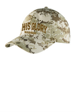 Load image into Gallery viewer, His Glory Warrior Digital Camo Cap