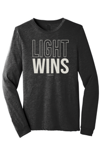 Light Wins Unisex Long Sleeve Tee