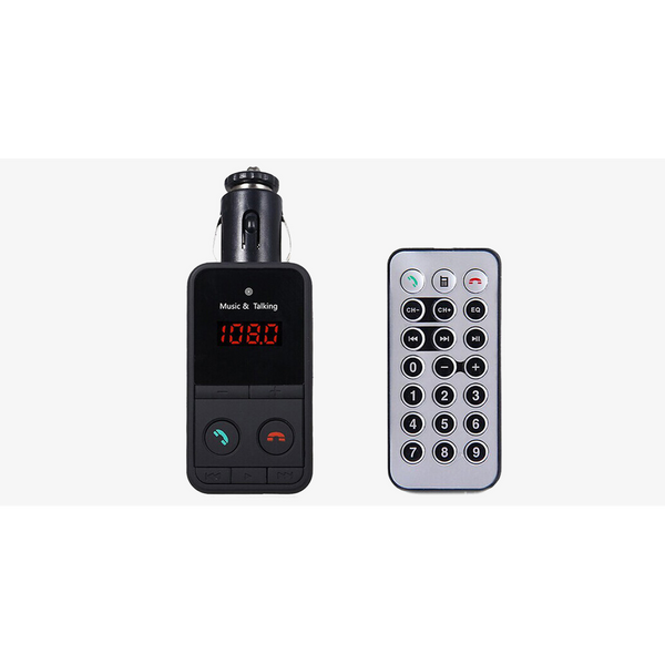 Hands-Free Car Kit FM Transmitter