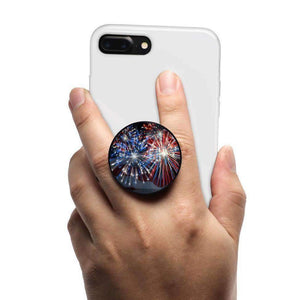 All in One Phone Grip Mount and Stand USA Fireworks