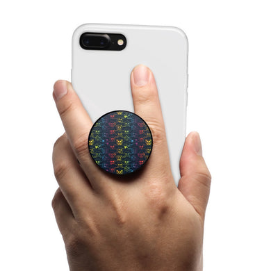 All in One Phone Grip Mount and Stand Emoji™ Pride Pattern