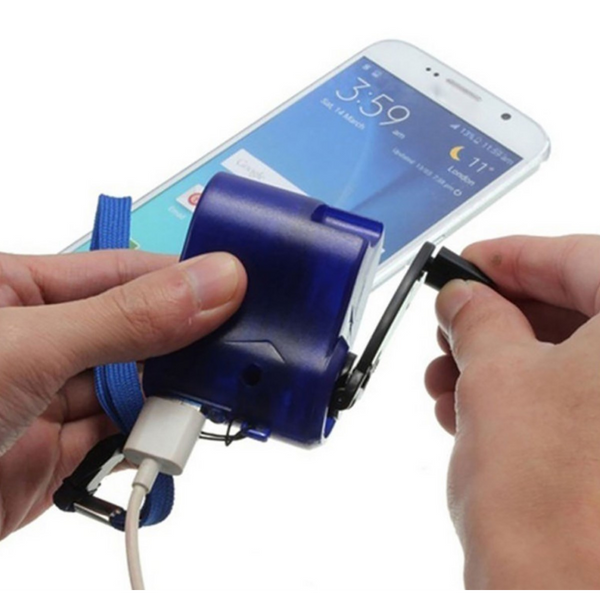 Hand Crank Emergency Charger for Travelling