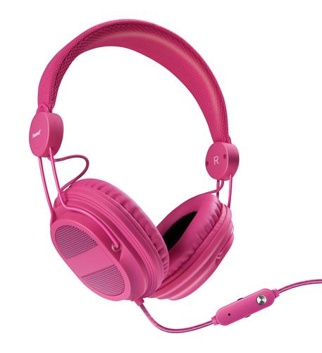 HM-310 Kid Friendly Headphones Pink