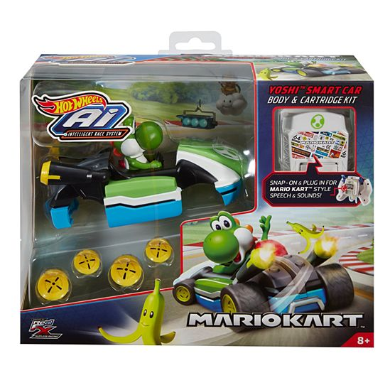 Hot Wheels Ai Mario Kart Yoshi Accessory