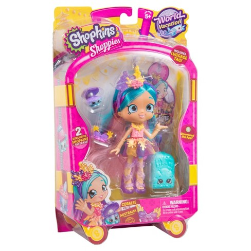 Shopkins World Vacation Coralee