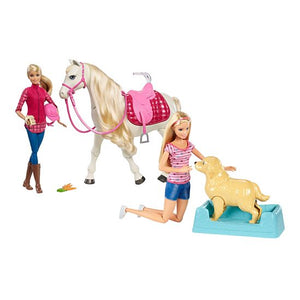 Barbie Pet Pals Gift Set