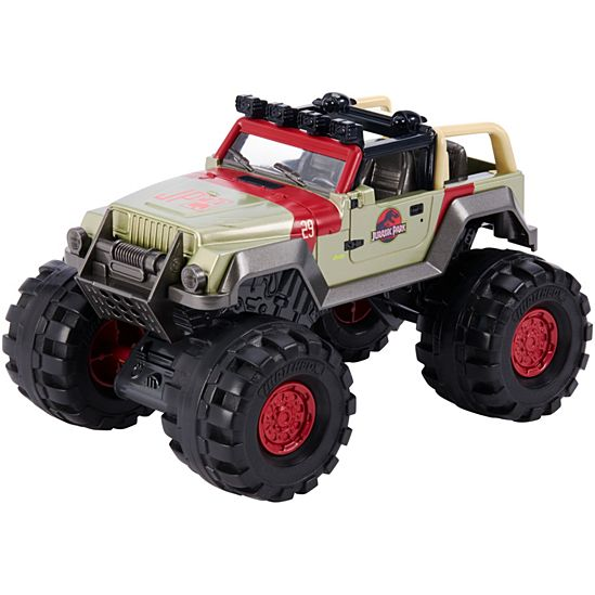 Matchbox Jurassic World '93 Jeep Wrangler