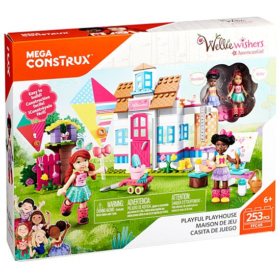 Mega Construx American Girl Willa and Kendall's Playful Playhouse