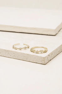金色戒指組 Stack Ring Set