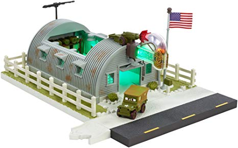 Disney Pixar Cars Precision Series Sarge's Surplus Hut Playset