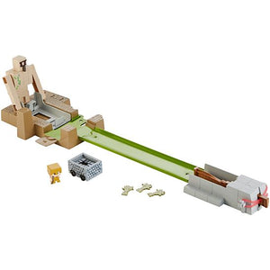 Minecraft Hot Wheels Golem Toss Play Set
