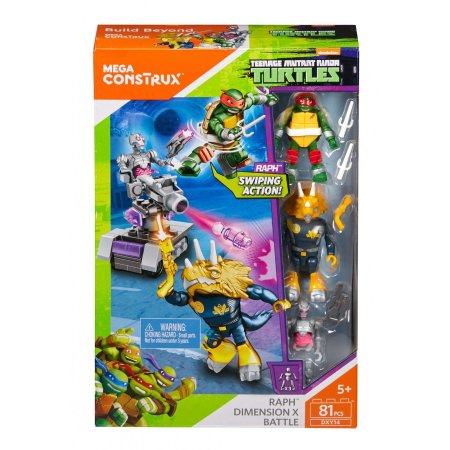 Mega Bloks Teenage Mutant Ninja Turtles Dimension X Building Set