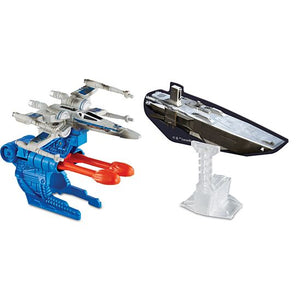 Hot Wheels Star Wars Blast Attack Resistance X-Wing Fighter Starship