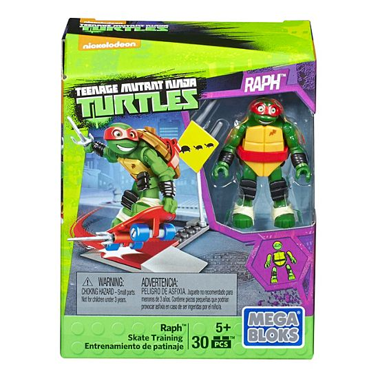 Mega Bloks Teenage Mutant Ninja Turtles Raph Skate Training