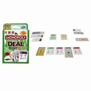 Monopoly Deal Card Game (Multilingual)