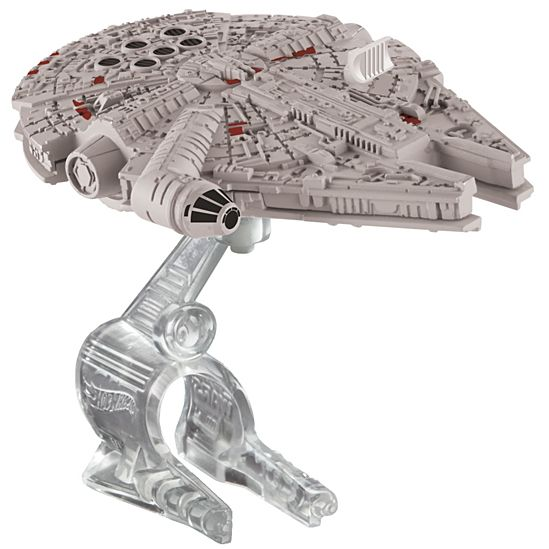 Hot Wheels Star Wars The Force Awakens Starship, Millennium Falcon Die-Cast Vehicle