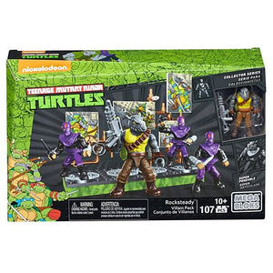 Mega Bloks Teenage Mutant Ninja Turtles Rocksteady Villain Pack