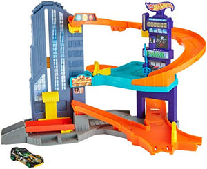 Hot Wheels Speedtropolis Track Set