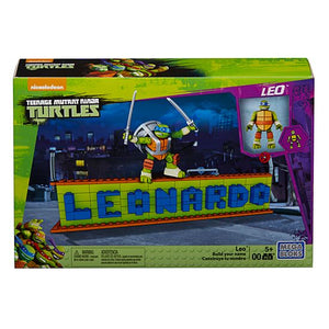 Mega Bloks Teenage Mutant Ninja Turtles Ninja Name Plate Builder